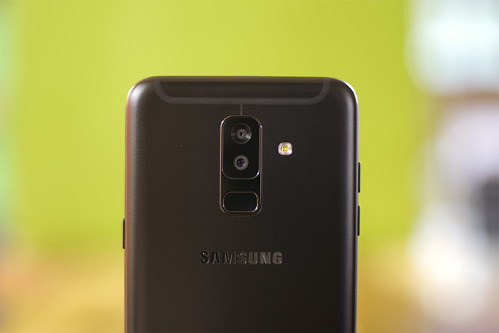 Samsung Galaxy A6 Plus rear camera
