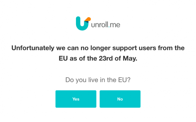 unroll.me gdpr question