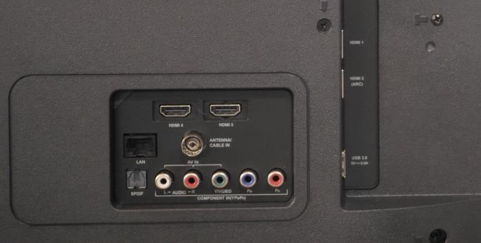 TCL iFFALCON K2A Ports 2
