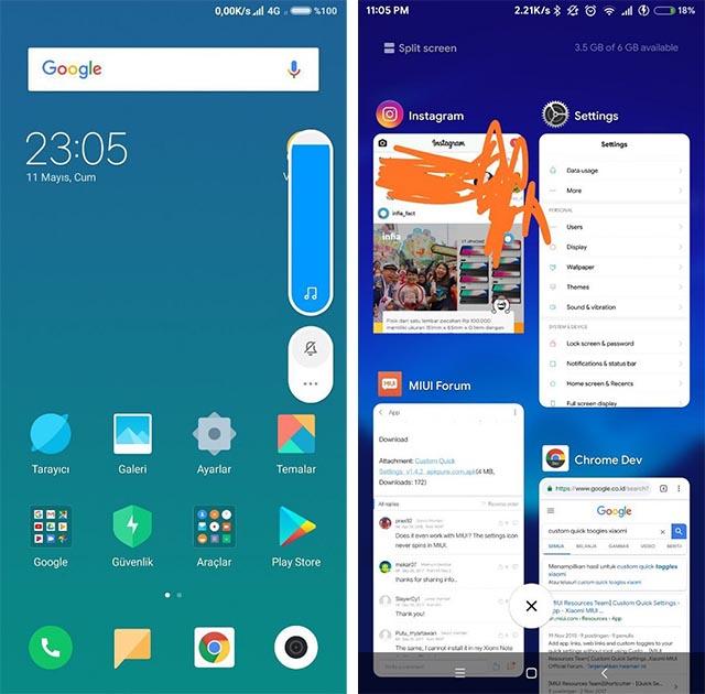 Xiaomi MIUI 9 Mi Mix 2
