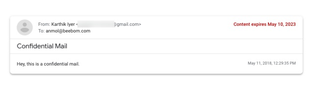 Gmail Confidential Mode Starts Rolling Out: Here's How To Use It