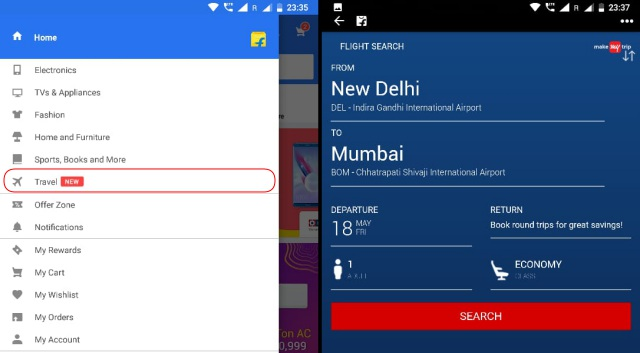 Now You Can Book Flights From Right Within The Flipkart App