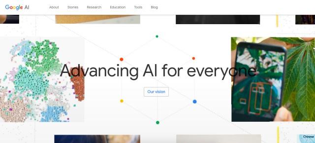 google ai homepage
