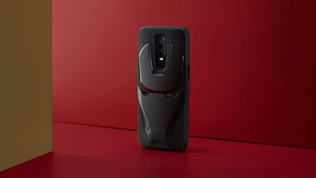iron man case oneplus 6