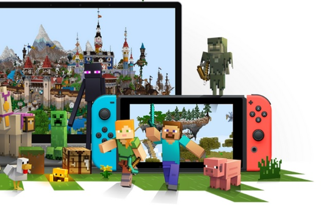 Minecraft on Nintendo Switch to Get Cross-Platform Gameplay