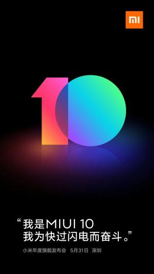 miui 10 poster