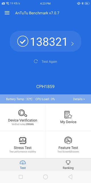 Realme 1 Performance Test: A Worthy Competitor in Its Price