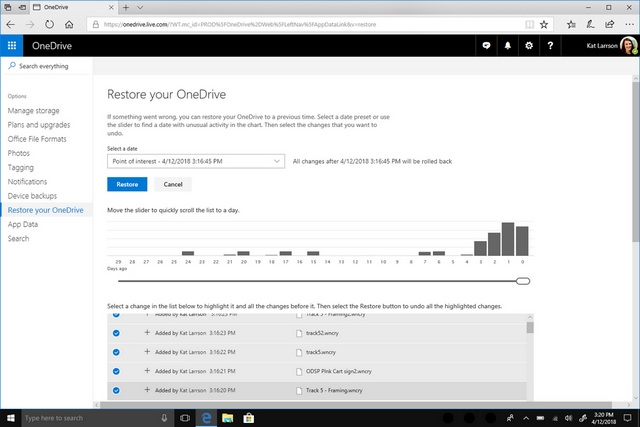 Microsoft Bundles OneDrive Files Restore into Windows Defender