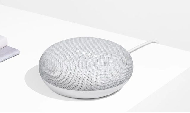1. Google Home Mini
