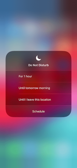 10. Improved Do Not Disturb