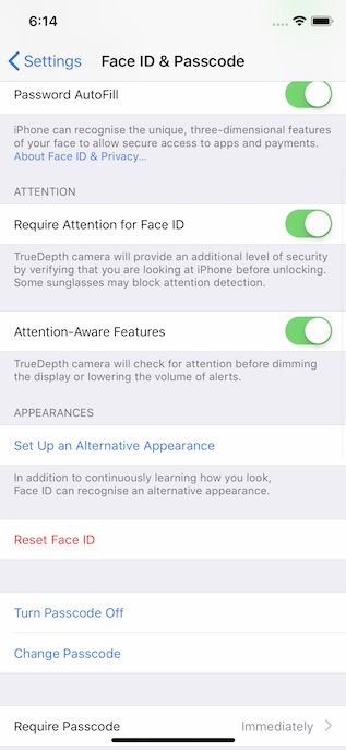 11. Adding Multiple Faces in FaceID