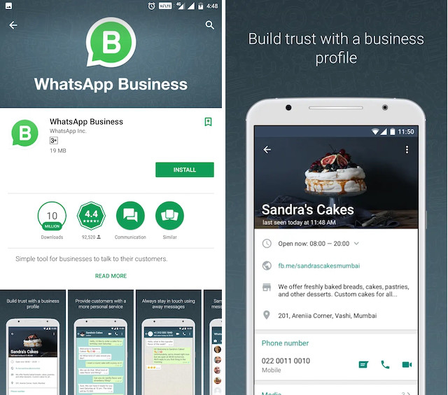 WhatsApp vs. Telegram whatsapp Business