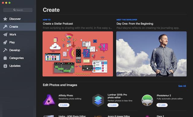 6. Mac App Store Redesign 4