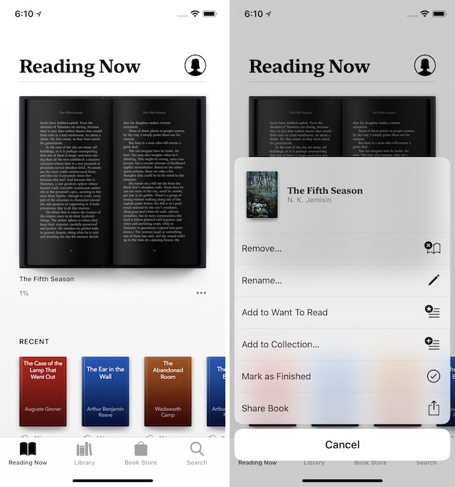 7. Stock App Updates and New Apps 3. Apple book