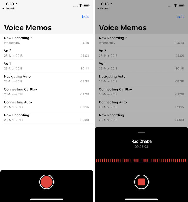 7. Stock App Updates and New Apps 6 Voice Memos