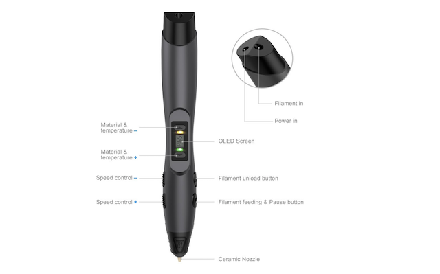 8. 3D Printing Pen From Tecboss