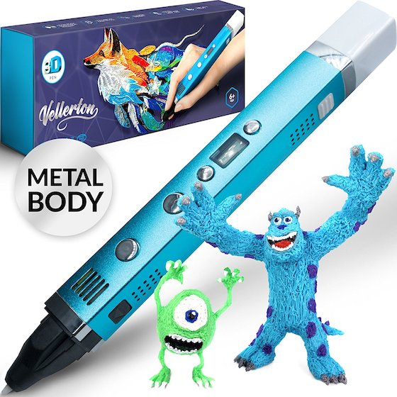 9. Vellerton 3D Pen for Kids