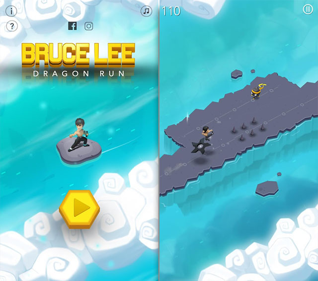 Bruce Lee Dragon Run Android Games