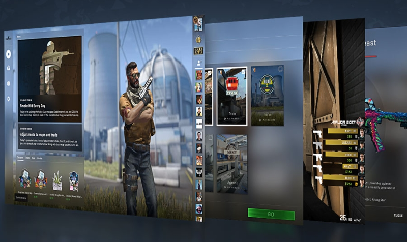 Panorama UI Available for Beta Testing in CS:GO