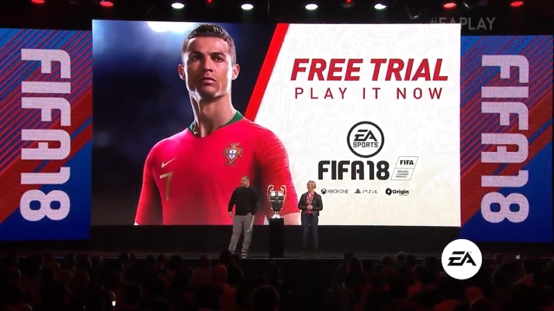 EA FIFA 18 Free Trial