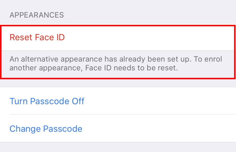 How to Set up Multiple Faces for Face ID in iOS 12