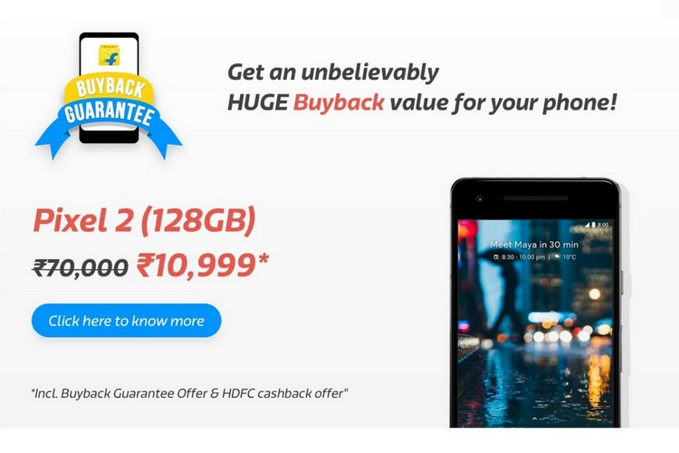 Get The Pixel 2 For As Low As Rs 8,999 During Flipkart Super Value Week