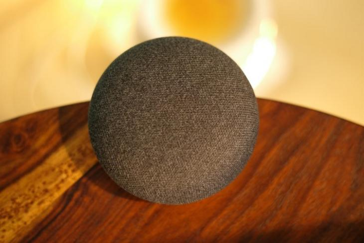 Google Home Mini website