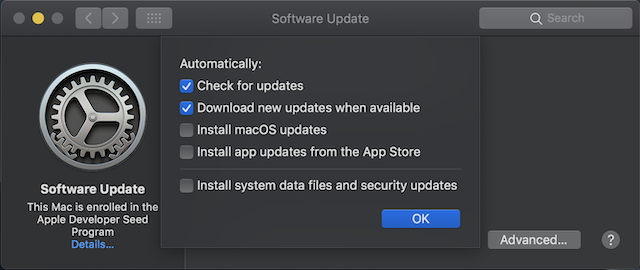 How to Check for Software Updates in macOS Mojave 4