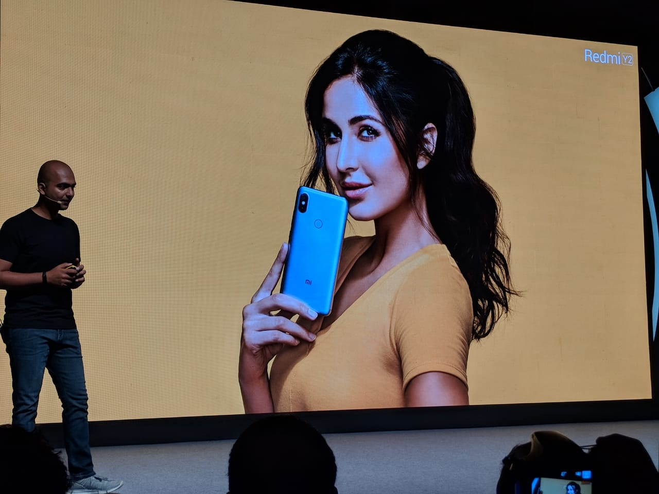 Redmi Y2 will have Katrina Kaif as the brand ambassador (Image: Beebom)