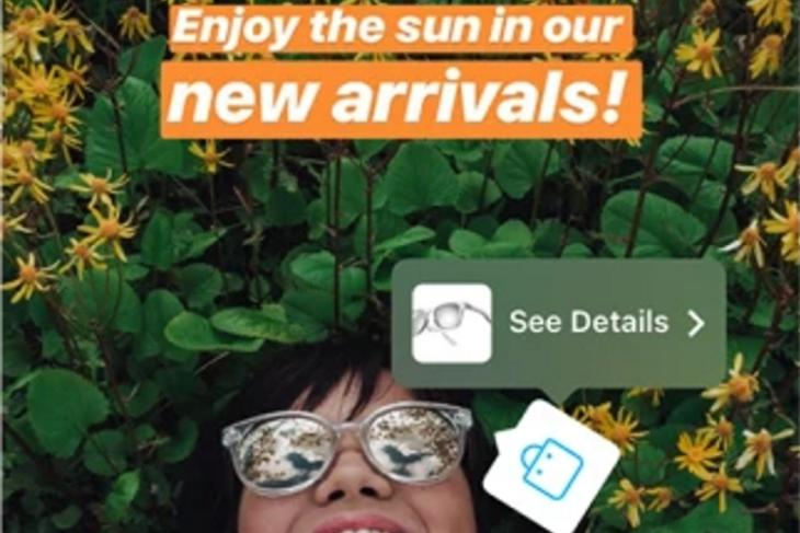 Instagram Stories Shopping Featured