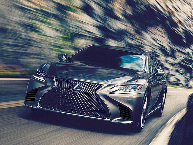 Lexus LS 500h Electric Cars