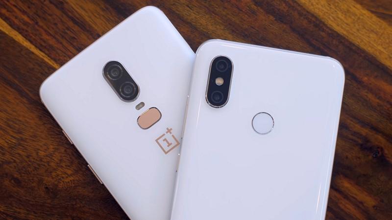 Mi 8 vs OnePlus 6
