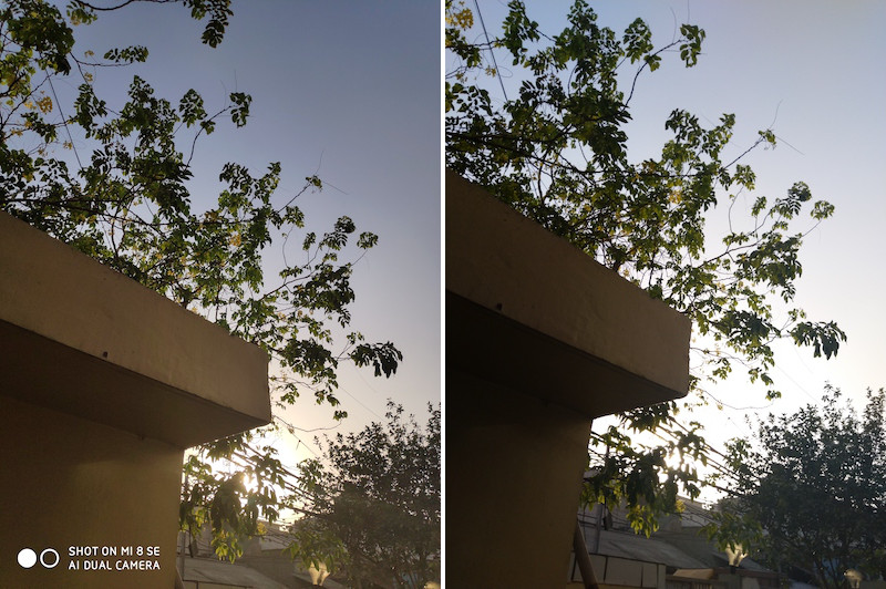 Nokia 7 Plus vs Mi 8 SE Camera 6