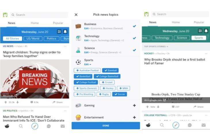 Reddit News Beta Featured