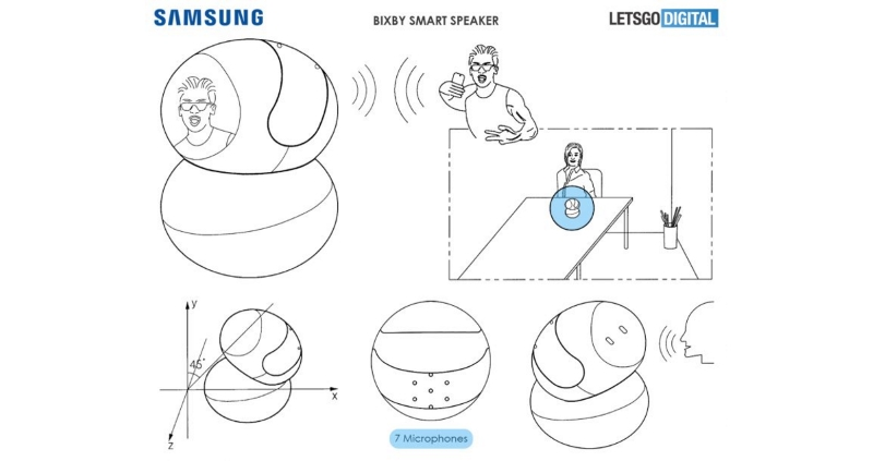 Upcoming Samsung Bixby Smart Speaker May Feature a Display and a Camera