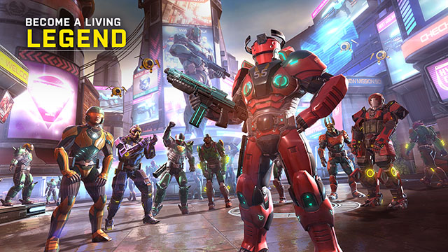 Shadowgun legends Android Games