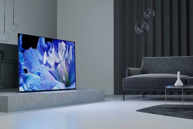Sony Bravia A8F Series Android TVs Launched in India From Rs 3,29,900