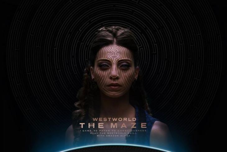 Westworld The Maze website