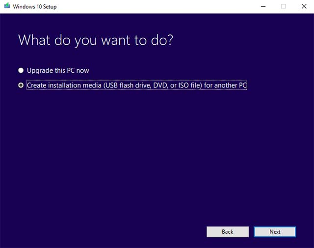 Windows 10 Installation Media 2