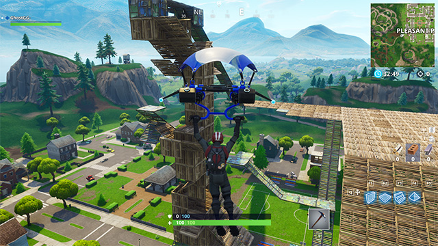 Fortnite's New Playground Limited Time Mode Is Incredibly Fun