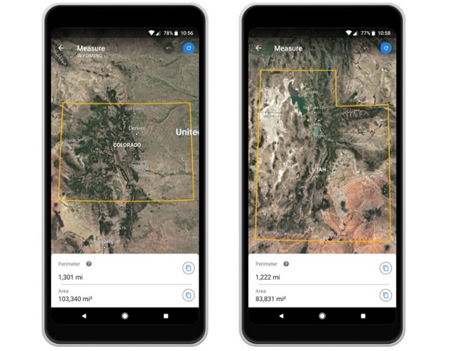 Google Earth Now Lets You Measure Distance And Calculate Area