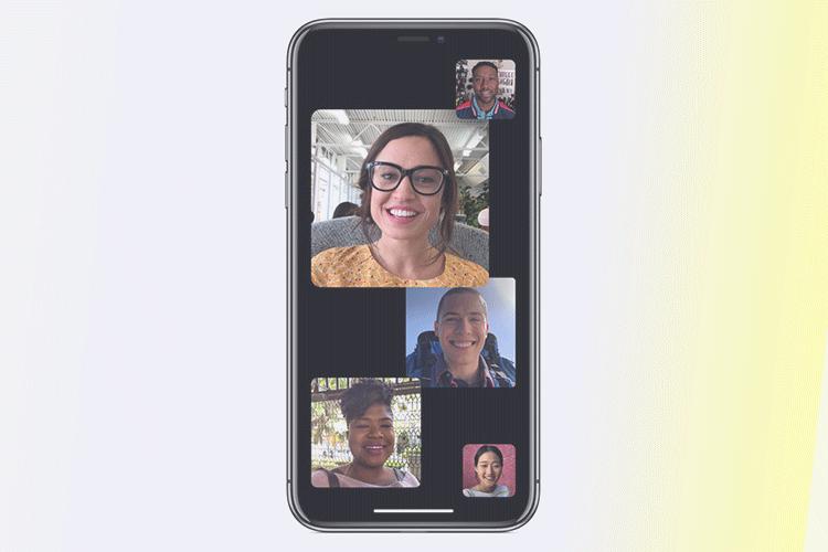 Group FaceTime on iOS 12