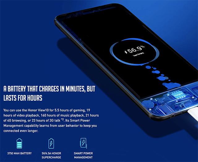 Honor Misleads Indian Users About Super Fast Charging on View 10, Bundles Standard Charger in the Box Instead