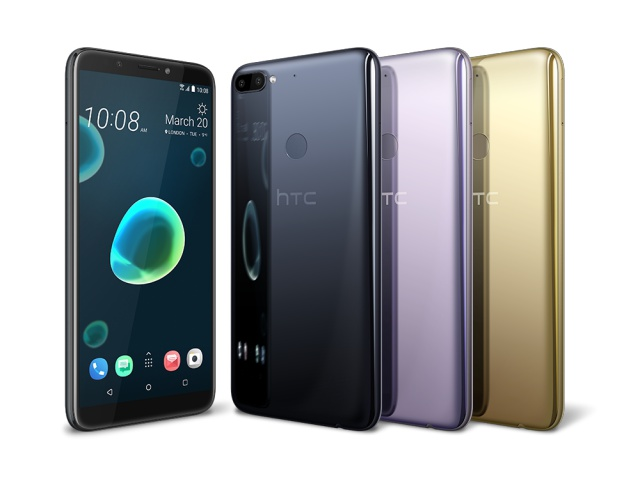 HTC Desire 12, Desire 12+ Launched in India; Starting at Rs 15,800