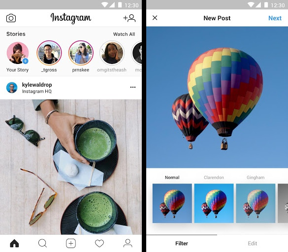 instagram lite app released