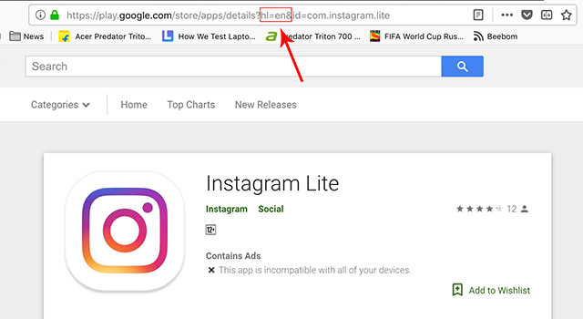 How to Install Instagram Lite in Any Country