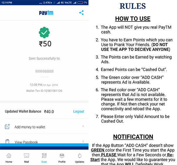 Fraudsters Dupe Merchants of Rs 2 Lakh Using Fake Paytm App in