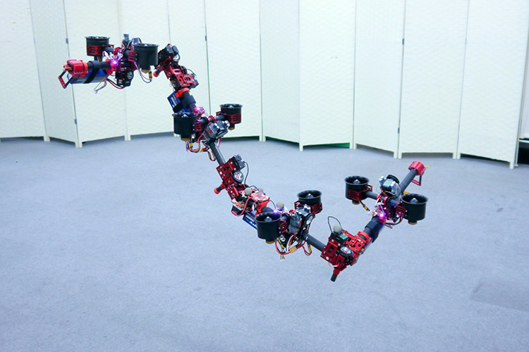 This Robotic Dragon Can Change Its Shape While Flying