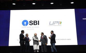 sbi rupay upi launched singapore