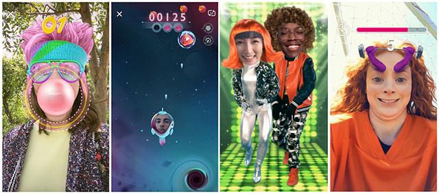 Games on Snapchat
